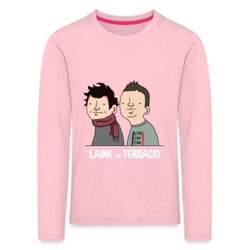 Laink et Terracid - T-shirt manches longues Premium Enfant