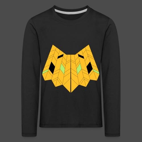 Owl Colour Redraw - Kids' Premium Longsleeve Shirt