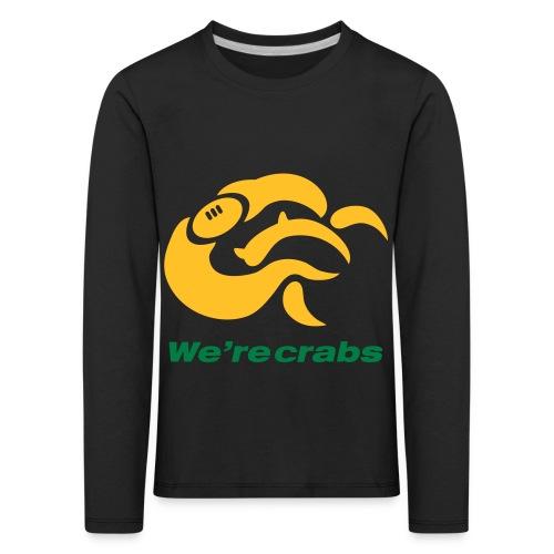 Crazycrab_Australia - Maglietta Premium a manica lunga per bambini