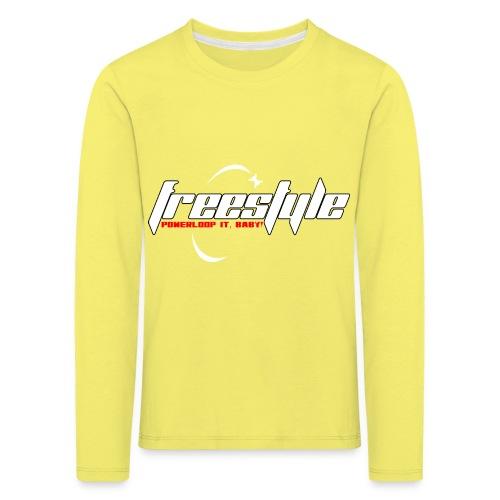 Freestyle - Powerlooping, baby! - Kids' Premium Longsleeve Shirt