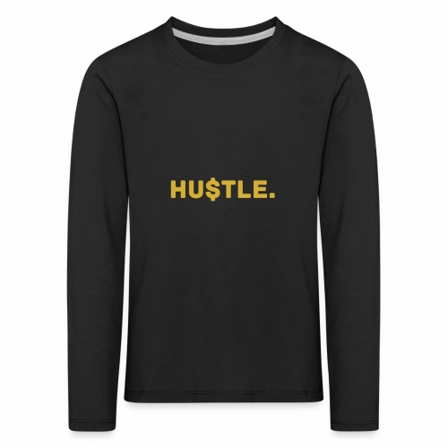Millionaire. X HU $ TLE - Kids' Premium Longsleeve Shirt