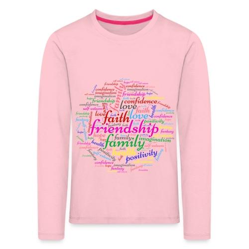 Important things - Maglietta Premium a manica lunga per bambini