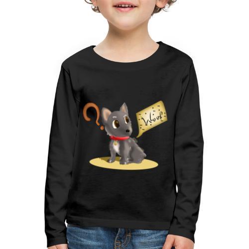 Perro - Camiseta de manga larga premium niño