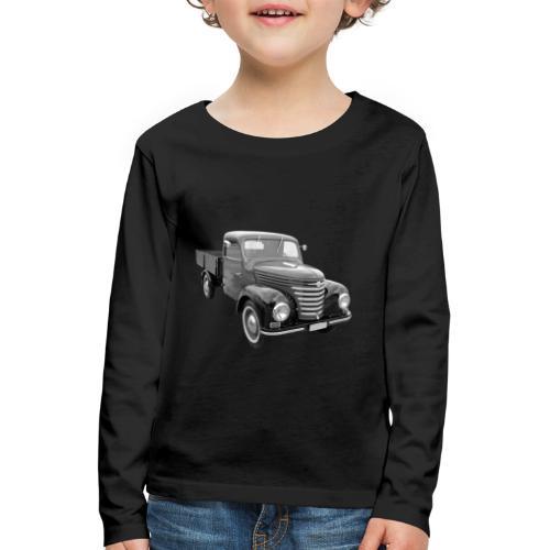 Framo Barkas Transporter Lkw DDR IFA Oldtimer - Kinder Premium Langarmshirt