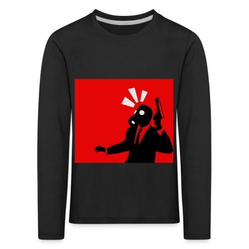 Gasmask - Kids' Premium Longsleeve Shirt