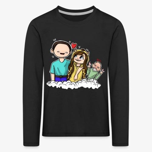 *Limited Edition* Esmee ❤️ Teun (Boze vader) - Kinderen Premium shirt met lange mouwen