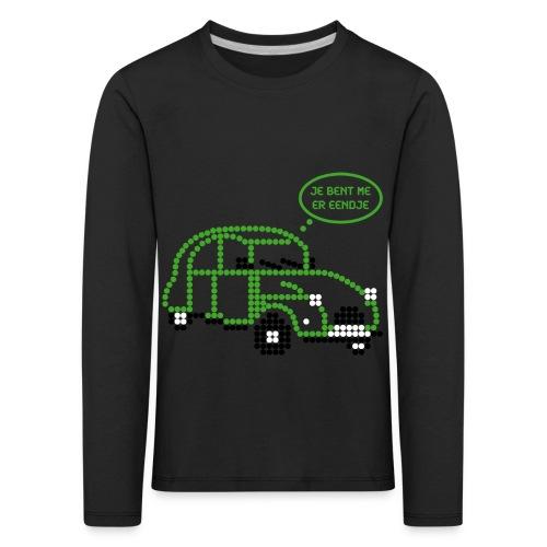 eendje.png - Kinderen Premium shirt met lange mouwen