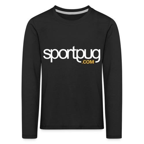 SportPug.com - Lasten premium pitkähihainen t-paita