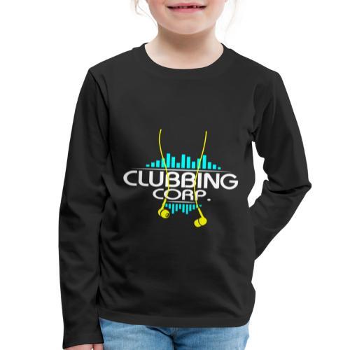 Clubbing Corp. by Florian VIRIOT - T-shirt manches longues Premium Enfant