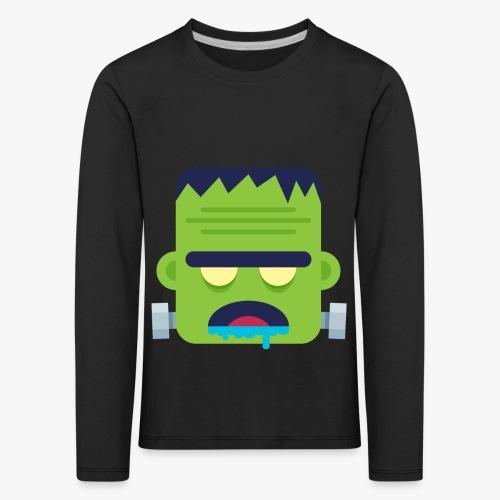 Monsters Frankie - Børne premium T-shirt med lange ærmer