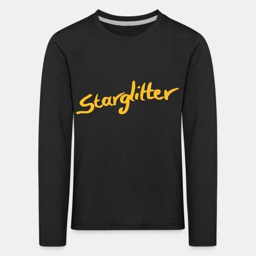 Starglitter - Lettering - Kids' Premium Longsleeve Shirt