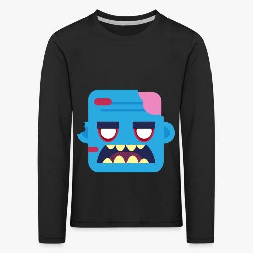 Mini Monsters - Zombob - Børne premium T-shirt med lange ærmer