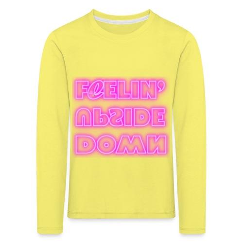 FeelinUpsideDown Neon - Maglietta Premium a manica lunga per bambini