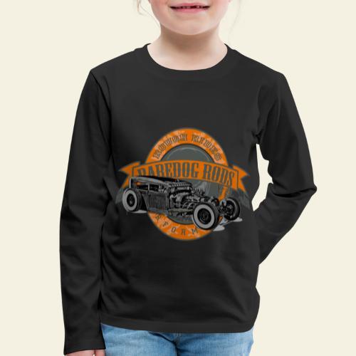 Raredog Rods Logo - Børne premium T-shirt med lange ærmer