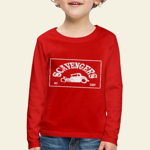 scavengers1 - Børne premium T-shirt med lange ærmer