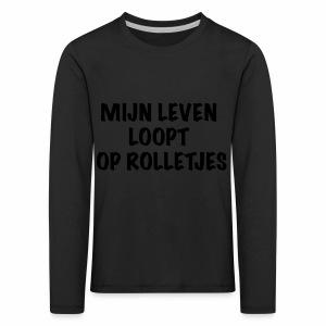 Rolletjes - Kinderen Premium shirt met lange mouwen