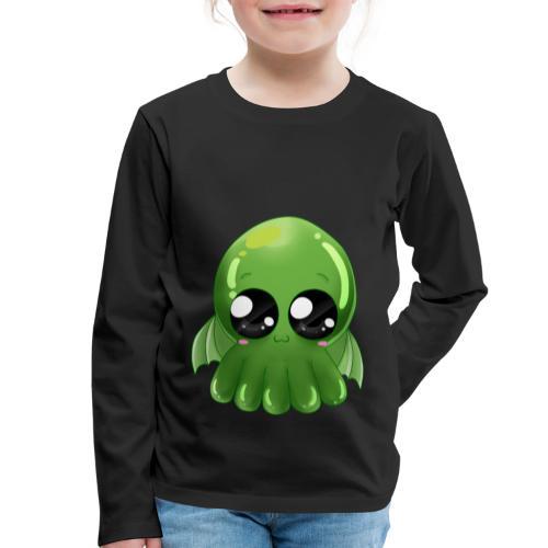 Super süßer Cthulhu - Kinder Premium Langarmshirt