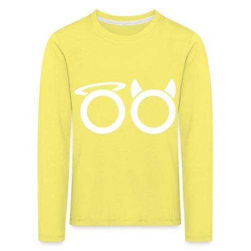 hvit svg - Kids' Premium Longsleeve Shirt