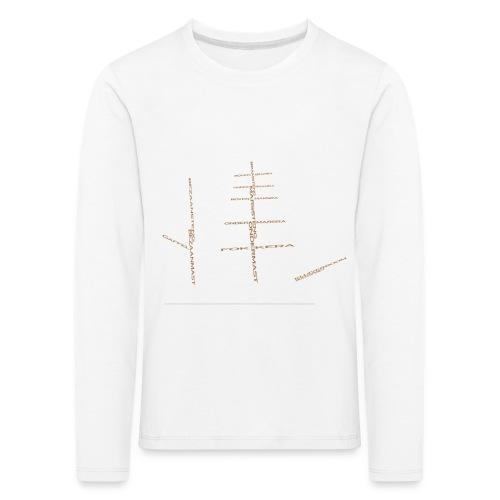 EZS T shirt 2013 Back - Kinderen Premium shirt met lange mouwen