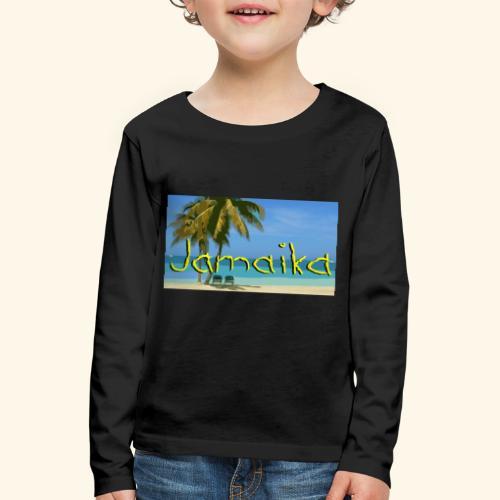 JAMAIKA - Kinder Premium Langarmshirt