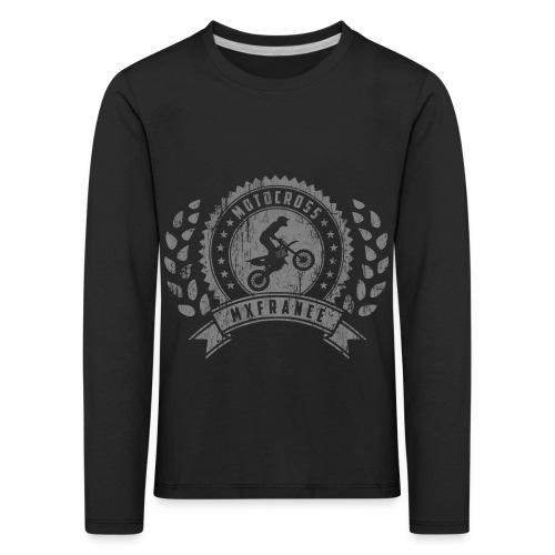 Motocross Retro Champion - T-shirt manches longues Premium Enfant