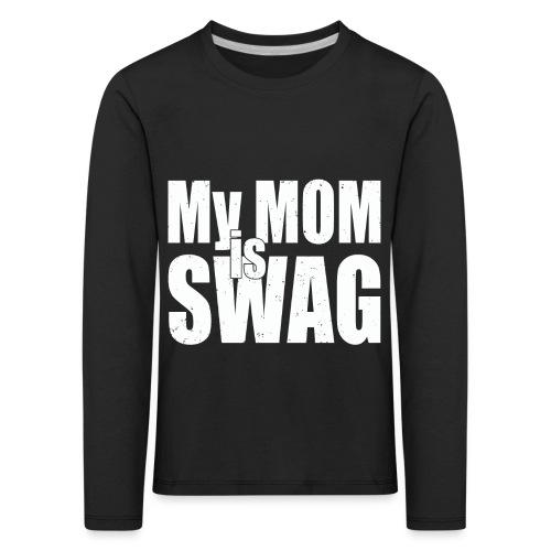 Swag White - Kinderen Premium shirt met lange mouwen