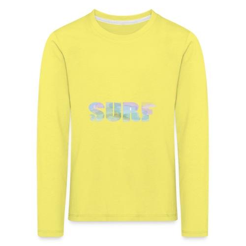 Surf summer beach T-shirt - Kids' Premium Longsleeve Shirt