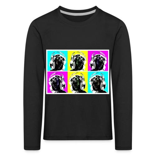 aeroeye - Kinder Premium Langarmshirt