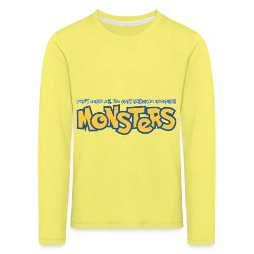Monsters - Kids' Premium Longsleeve Shirt