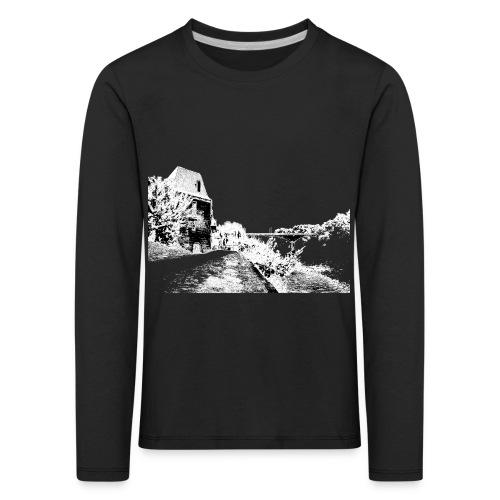 J'aime Mouleydier - Pont F - T-shirt manches longues Premium Enfant