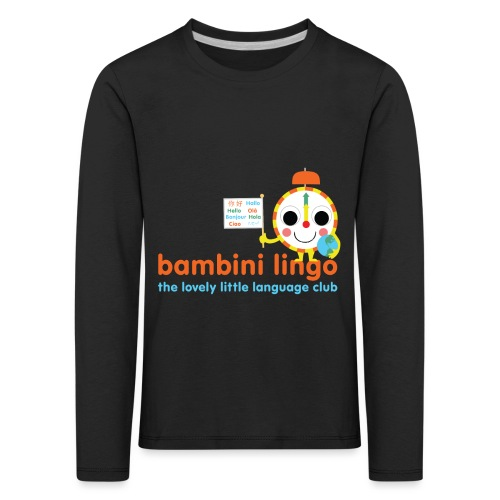 bambini lingo - the lovely little language club - Kids' Premium Longsleeve Shirt