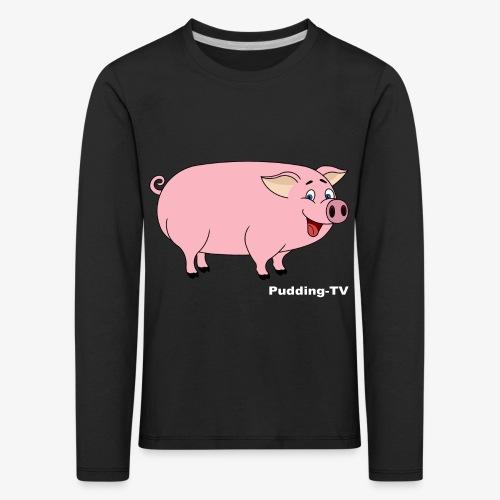 Gris - Premium langermet T-skjorte for barn