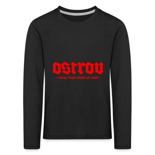 ostrov red 2 - Koszulka dziecięca Premium z długim rękawem