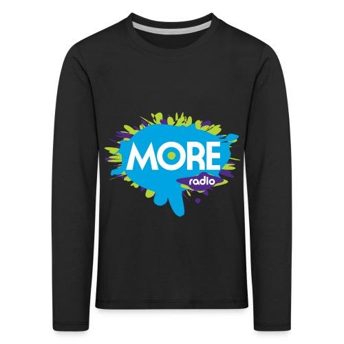 More Radio 2017 - Kinderen Premium shirt met lange mouwen