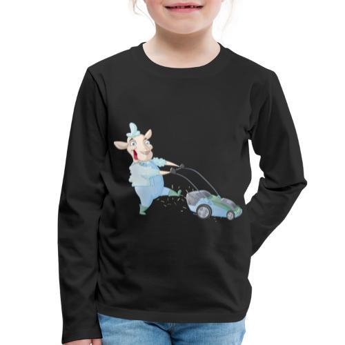 Der Rasen-MÄHER - Kinder Premium Langarmshirt