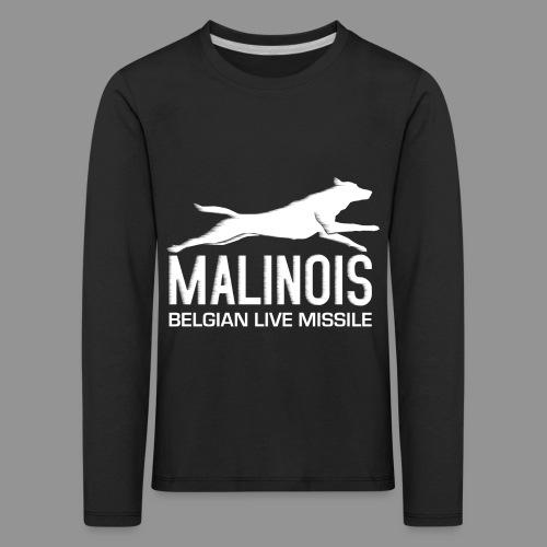 Belgian shepherd Malinois - Kids' Premium Longsleeve Shirt
