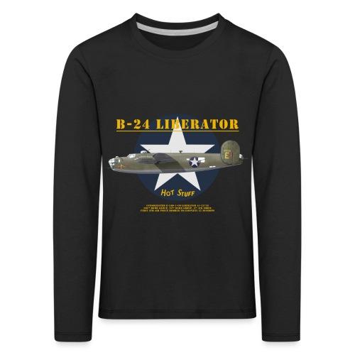 B-24 Hot Stuff - T-shirt manches longues Premium Enfant