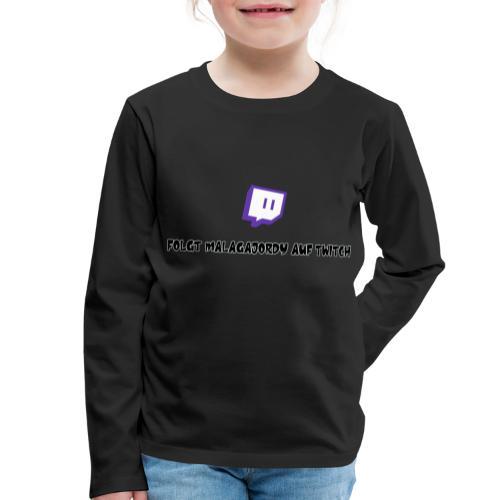 Die Werbungs Kollektion - Kinder Premium Langarmshirt