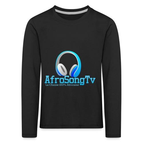 logo - Camiseta de manga larga premium niño