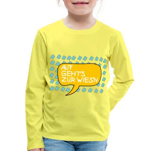 Wiesnfestl Oktoberfest - Kinder Premium Langarmshirt