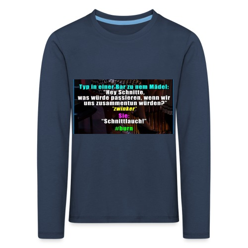 SchnitLauch - Kinder Premium Langarmshirt