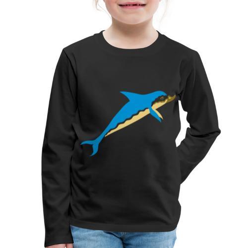 Dauphin - T-shirt manches longues Premium Enfant