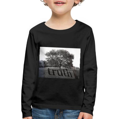 Truth - Kids' Premium Longsleeve Shirt