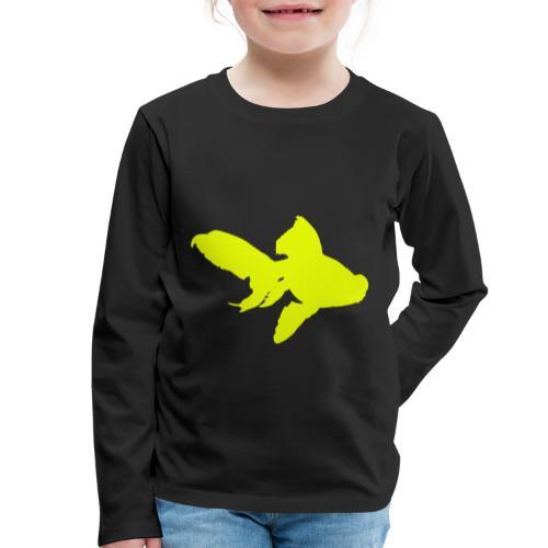 black moor - Maglietta Premium a manica lunga per bambini
