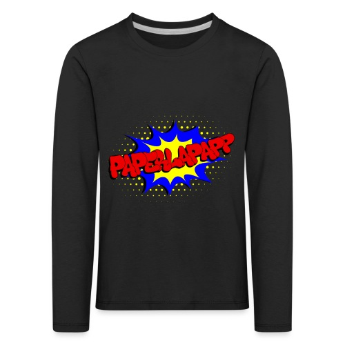 papperlapapp - Kinder Premium Langarmshirt