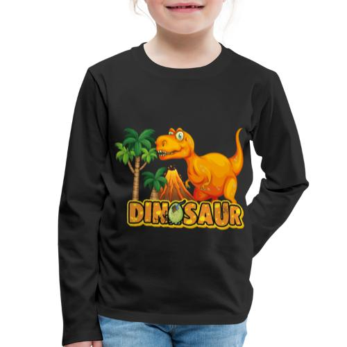 My Friend Dino - Camiseta de manga larga premium niño