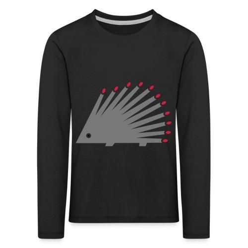 Hedgehog - Kids' Premium Longsleeve Shirt
