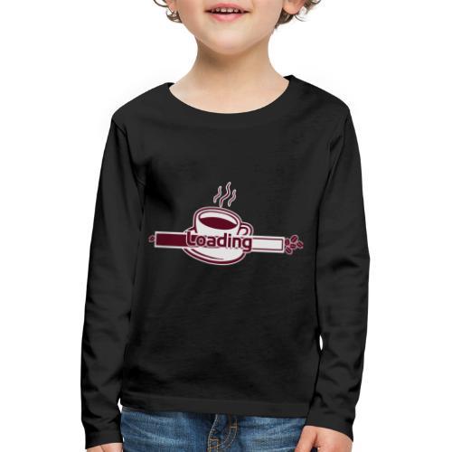 loading - Kinder Premium Langarmshirt