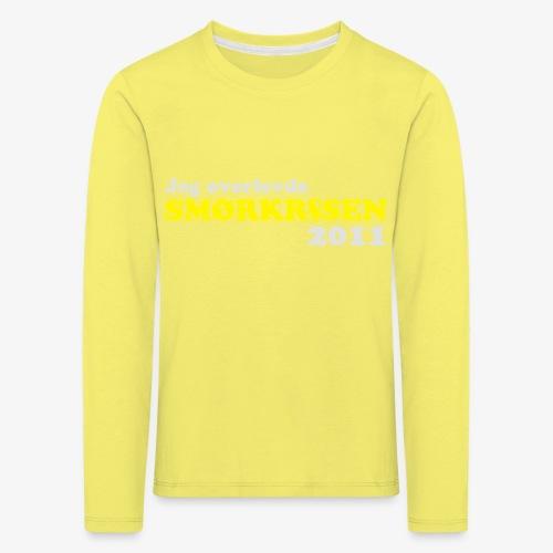 Smørkrise 2011 - Norsk - Premium langermet T-skjorte for barn