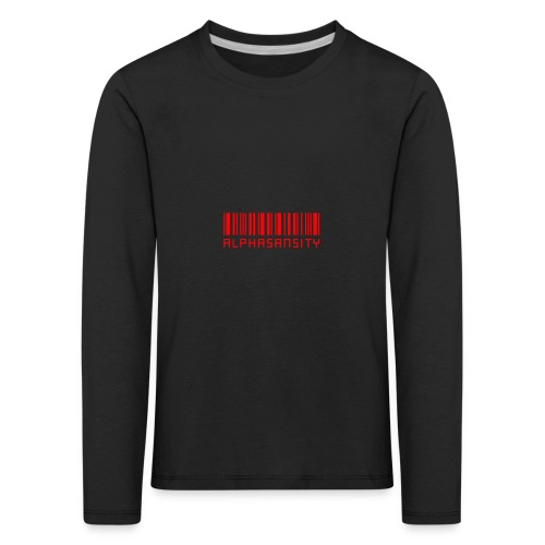BASS X ALPHASANSITY - Kinderen Premium shirt met lange mouwen